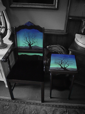 Tree Table and Chairs