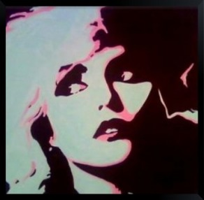 Blondie Pop art painting debbie harry 70's art